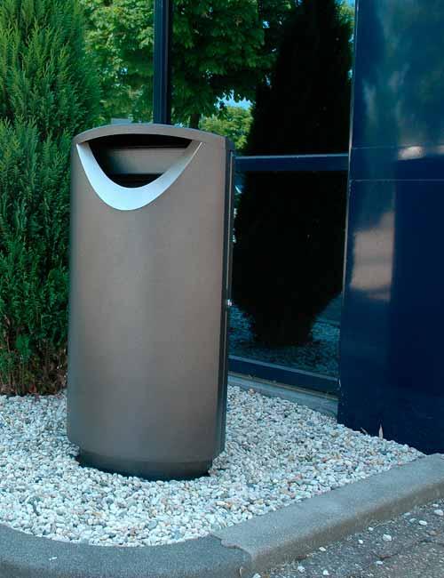 Элитные мусорные урны Ellipse 100
