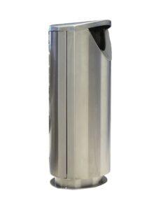 урна Ellipse 100 FINBIN нержавейка уличная на цоколе