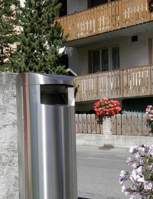 мусорная урна в городе FINBIN UNIQUE 100 закрытый верх