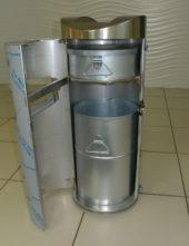 Внутренние контейнеры для мусора и окурков в напольной пепельнице FINBIN VOLCANO