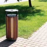 Урна для мусора в парках серия DIAGINALE