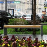 Урна с пепельницей CITY 60A нержавейка улицы москвы