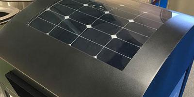 Питание от солнечных батарей FINBIN GreenBin