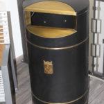 Большая красивая мусорная урна FINBIN CITY 140 особая серия