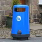 урна Glasdon Topsy 2000 уличная цвет голубой