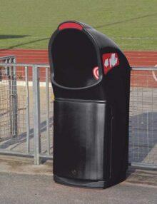 мусорная урна для фудкорда Glasdon combo Delta