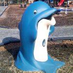 Мусорная урна Дельфин Glasdon Splash