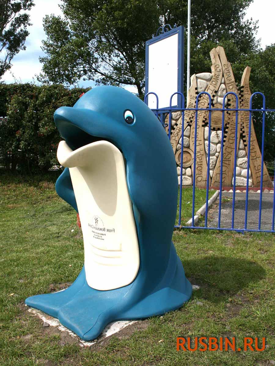 Мусорные урны для детских площадок Glasdon splash