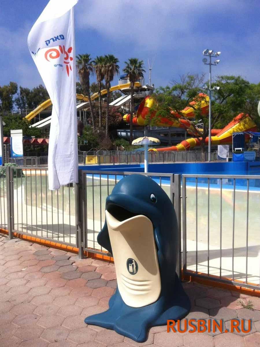 Мусорные урны для бассейнов и парков Glasdon splash