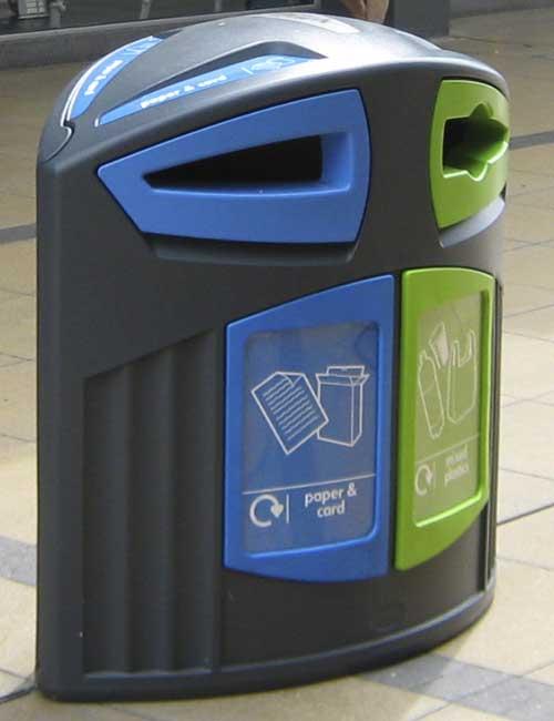 мусорный контейнер для сортировки мусора Glasdon Nexus 200