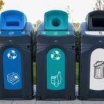 мусорный контейнер для раздельного сбора мусора Glasdon Nexus City 140