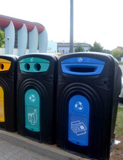Уличный контейнер для мусора NEXUS 360