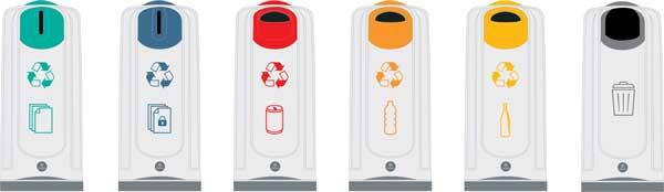 NEXUS 50 для мусора внутри помещений
