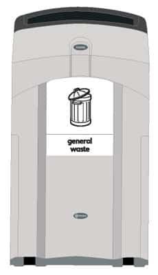 Урна NEXUS 100 для общего мусора