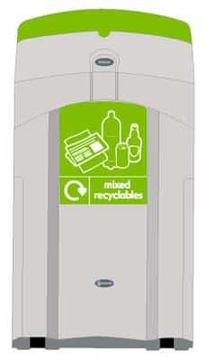 Урна NEXUS 100 для перерабатываемых отходов