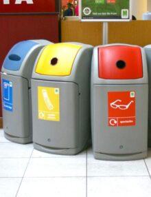 урна - контейнер для мусора внутри помещений 140 литров GLASDON NEXUS 140