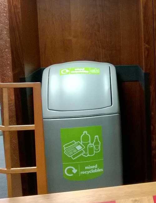 Урна для мусора внутри помещений 140 литров