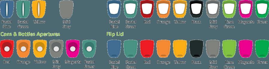 Варианты приемного мусорного отверстия GLASDON NEXUS 30