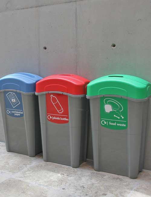 Урна под раздельный сбор мусора внутренняя Eco Nexus Glasdon
