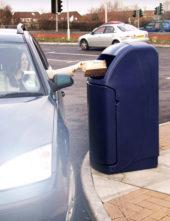 мусорная урна для установки у квай и фудкортов