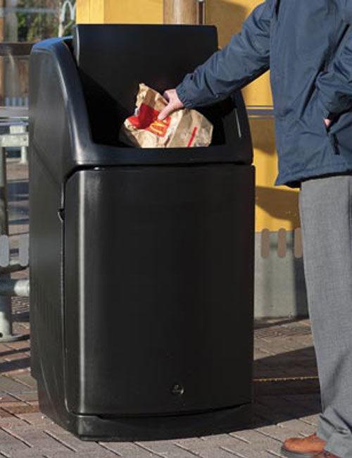 Урна с одобной утилизацией мусора в метах общепита