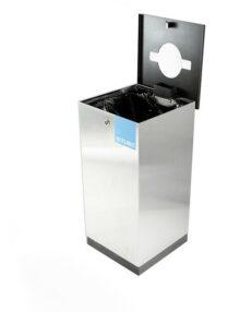сбор мусора внутри помещений в урну с внутренним мешком