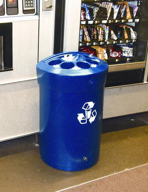 Мусорка для сбора стаканчиков GLASDON ENVOY CUP синий