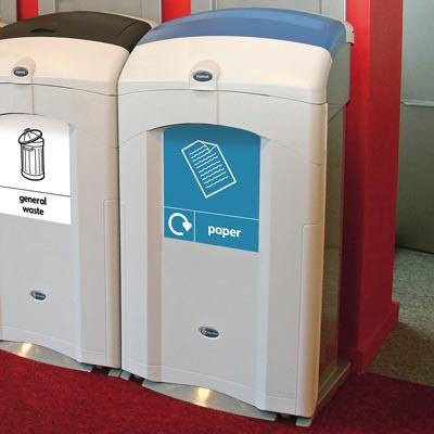 Контейнер для сбора бумаги NEXUS 100 литров