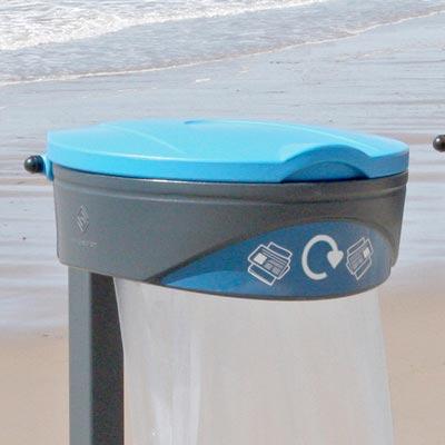 Урна с прозрачным пакетом для мусора ORBIS
