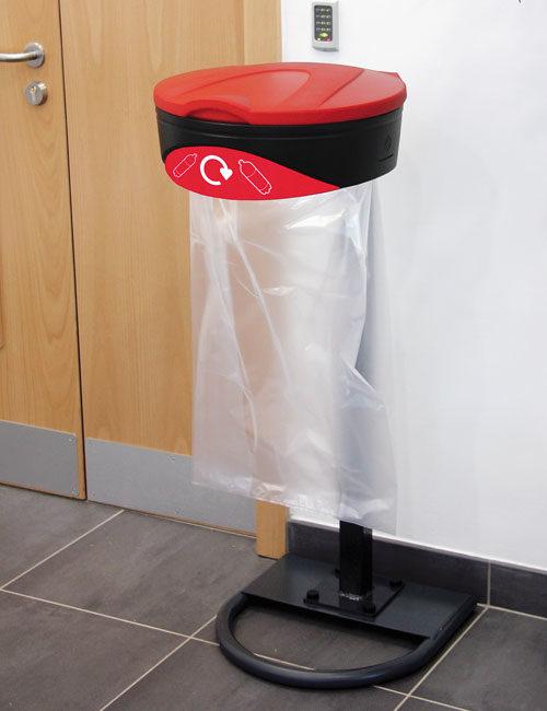 Мусорная урна с прозрачным мешком ORBIS