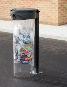 Урна с прозрачным мешком напольная ORBIS