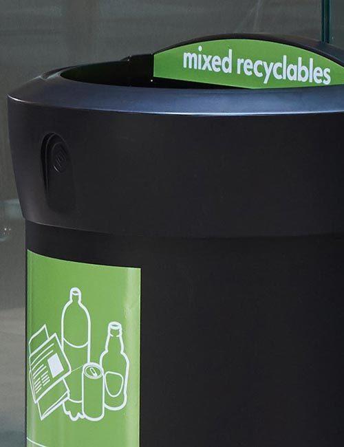 урна для перерабатываемого мусора 110 литров