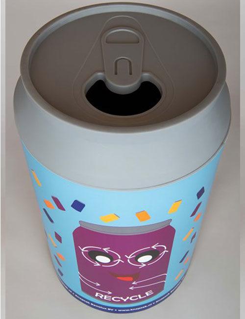 Урня для сбора слюминиевых банок CanMan-210 литров