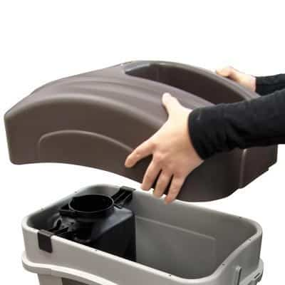 Контейнер для слива жидкости в урне ECO NEXUS GLASDON