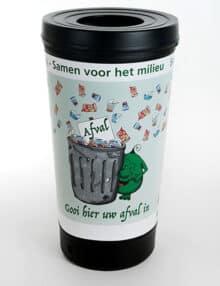 урна - стаканчик для мусора 210 литров