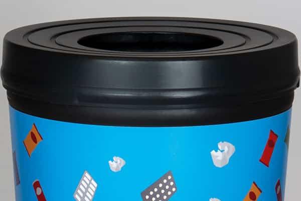 крышка мусорной урны-стаканчика