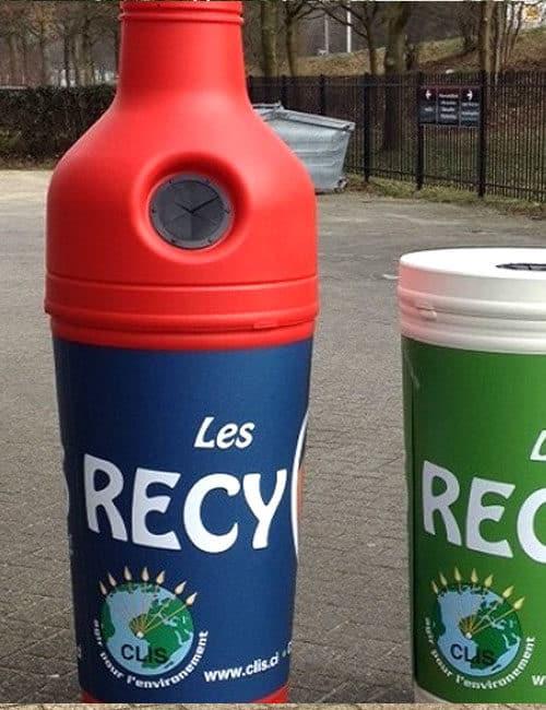 урна бутылка для сбора пластиковых бутылок