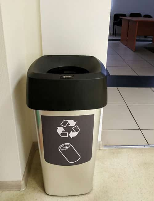 Урна для сбора мусора внутри помещений VISTA