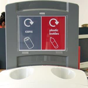 Верхняя стойка указатель типа собираемого мусора