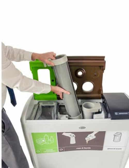 Урна для сбора бумажных стаканов и жидкости EVO NEXUS