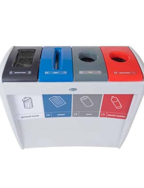 Мусорная урна для 4 типов отходов EVO GLASDON
