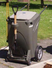 Тележка для перевозки мусора дворником Skipper