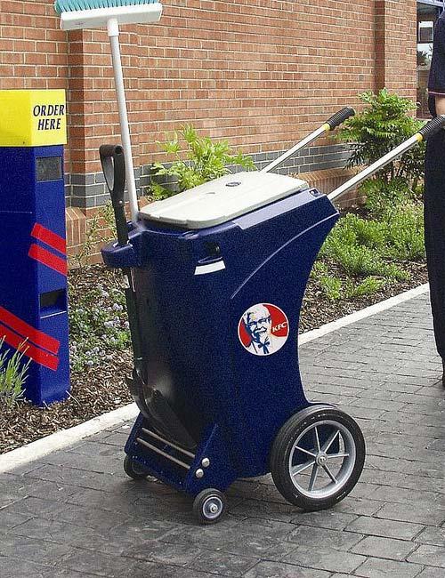 Уличная тележка для мусора Skipper GLASDON