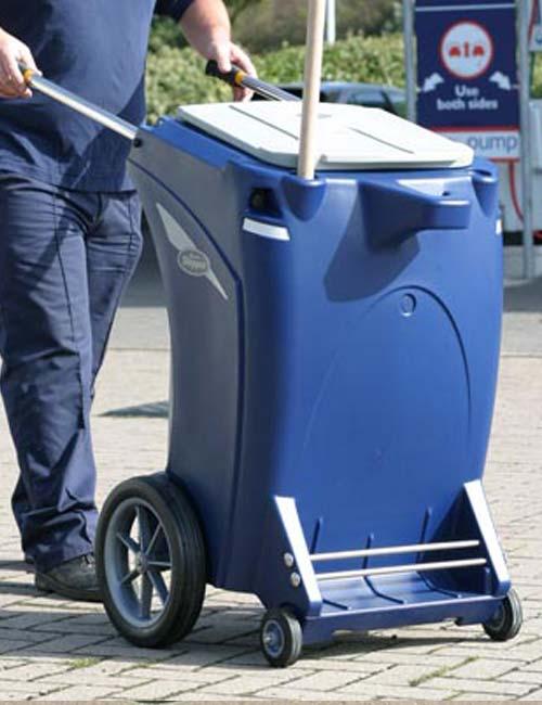 Уличная тележка для вывоза мусора Skipper