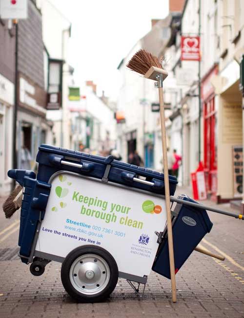 Тележки для уборки мусора GLASDON