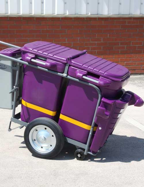 Уличные тележки для перевозки мусора GLASDON