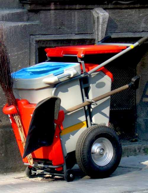 тележка для вывоза мусора GLASDON