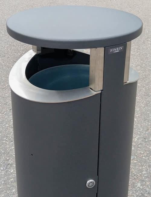 Металлическая двухсторонняя мусорная урна NOVUS Фин Бин