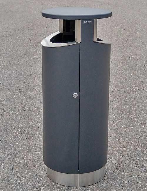 Уличная двухсторонняя мусорная урна NOVUS 80-2