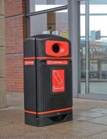 Уличная урна для сбора пластика Jubilee-R